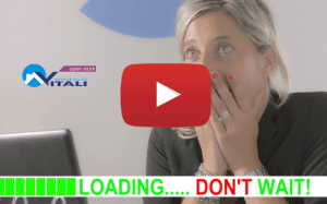 loading dont wait con bottone youtube