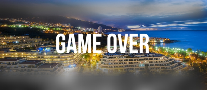 game over tenerife per post