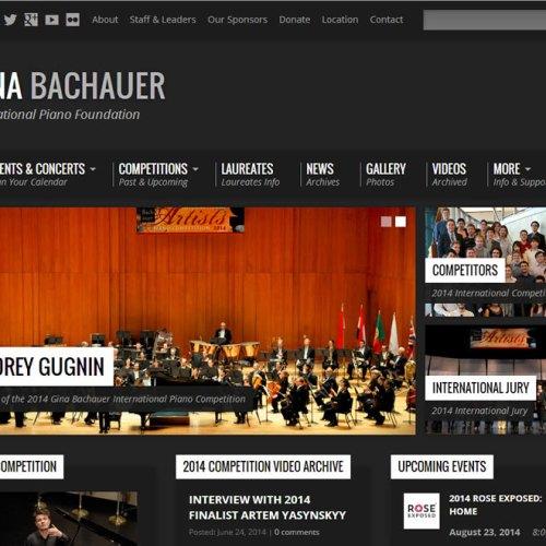 Website Re-design Complete – www.Bachauer.com