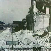 Cagliari 1943: sant'Efisio tra le macerie dei bombardamenti. Per non dimenticare
