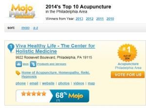 Viva Healthy Life #1 Acupuncture in Philadelphia