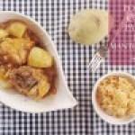 Pollo con Papas y Mantequilla
