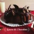 Rosca de Chocolate con cobertura de Chocolate Oscuro