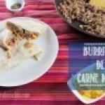 Burritos de Carne Molida y Queso Cheddar: Muy fáciles de hacer