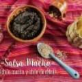 Salsa Macha (salsa de chile morita y chile de árbol):