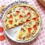 Pizza de Pepperoni y Champiñones para San Valentín: