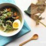 Sopa de Pollo con Fideos y Vegetales