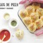 Panecillos de Pizza: Rellenos de Queso y Pepperoni
