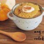 Mug cake de calabaza: Receta muy fácil en 5 minutos