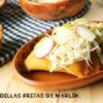 Quesadillas Fritas de Marlín Ahumado: Receta de Cuaresma