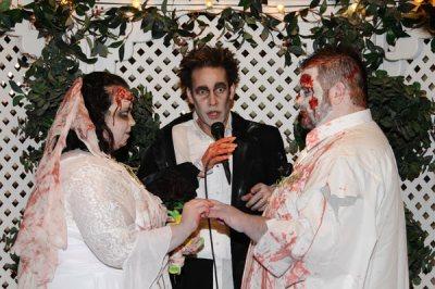 Las Vegas Weddings | Las Vegas Zombie Themed Wedding Package
