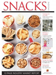 Snacks Magazine Autumn 2015 Cover