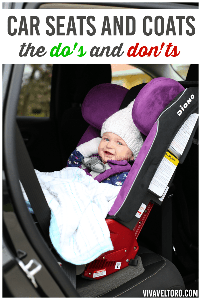 No Winter Coats In Car Seats