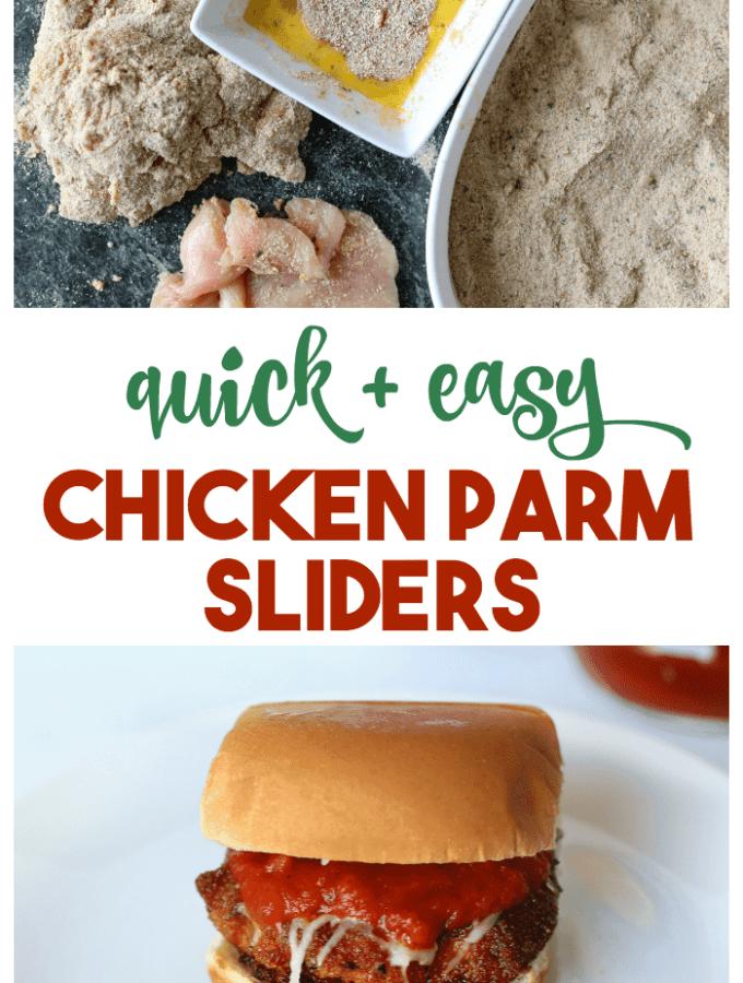 chicken parm sliders