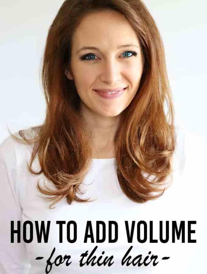 volume for thin hair