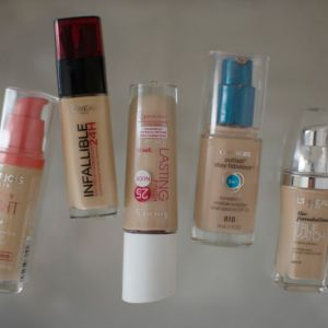 Top Drugstore Foundation Finds