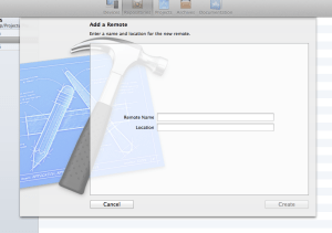 Xcode - Add remote Repository 1