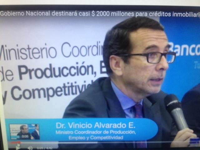 EcuadorMinistroProduccion