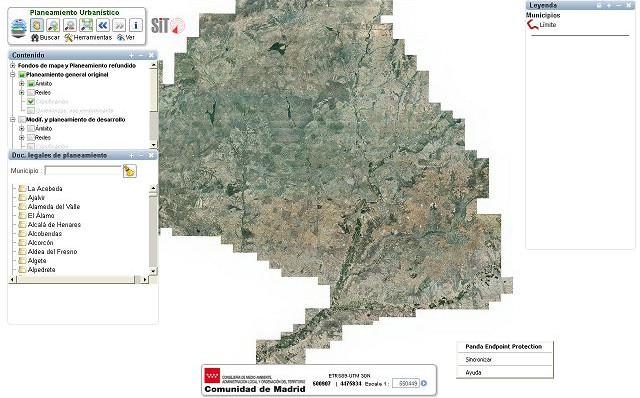La Comunidad de Madrid pone disponibles en el SIT los últimos PGOU aprobados