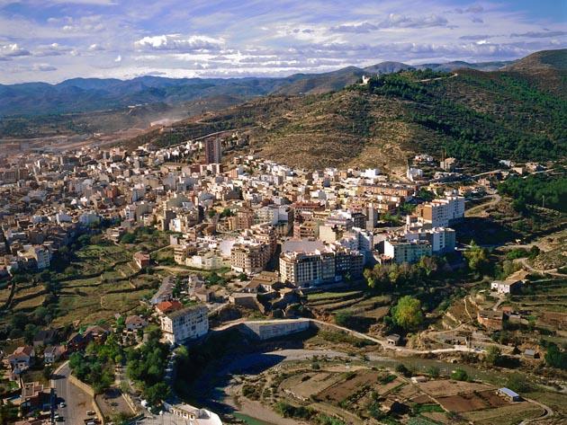 Foto aérea. L'Alcora