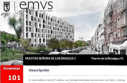 La EMVS suspende temporalmente los desahucios de las viviendas municipales