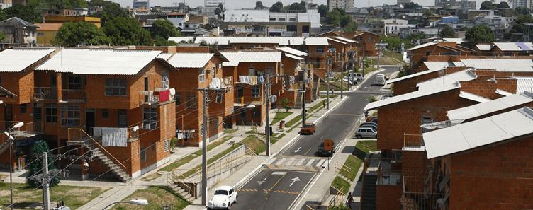 Proyecto de vivienda impulsado por el BID en Brasil.