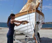 Baptême et lancement d'un bateau en construction amateur