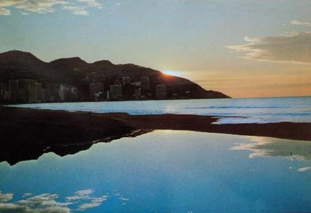 Amanecer en Playa de Levante