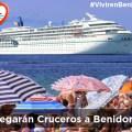 Llegarán a Benidorm Cruceros