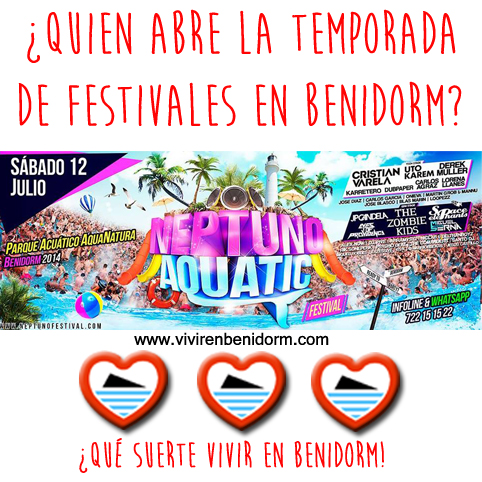Quien abre la temporada de Festivales en Benidorm