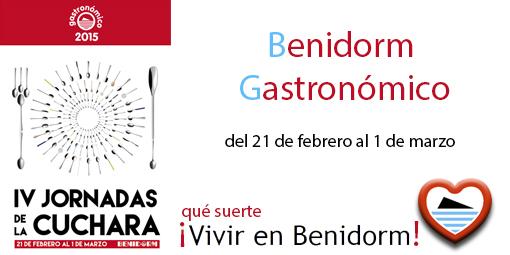Benidorm Gastronomico Jornada de la Cuchara 2015