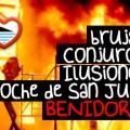 Noche de San Juan Benidorm 2015 Brujas conjuros Playas