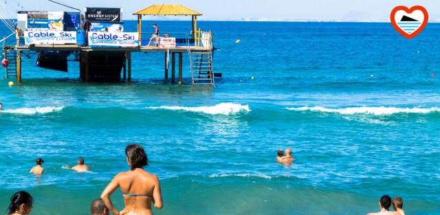 benidorm-playas-vivir en benidorm-cableski benidorm