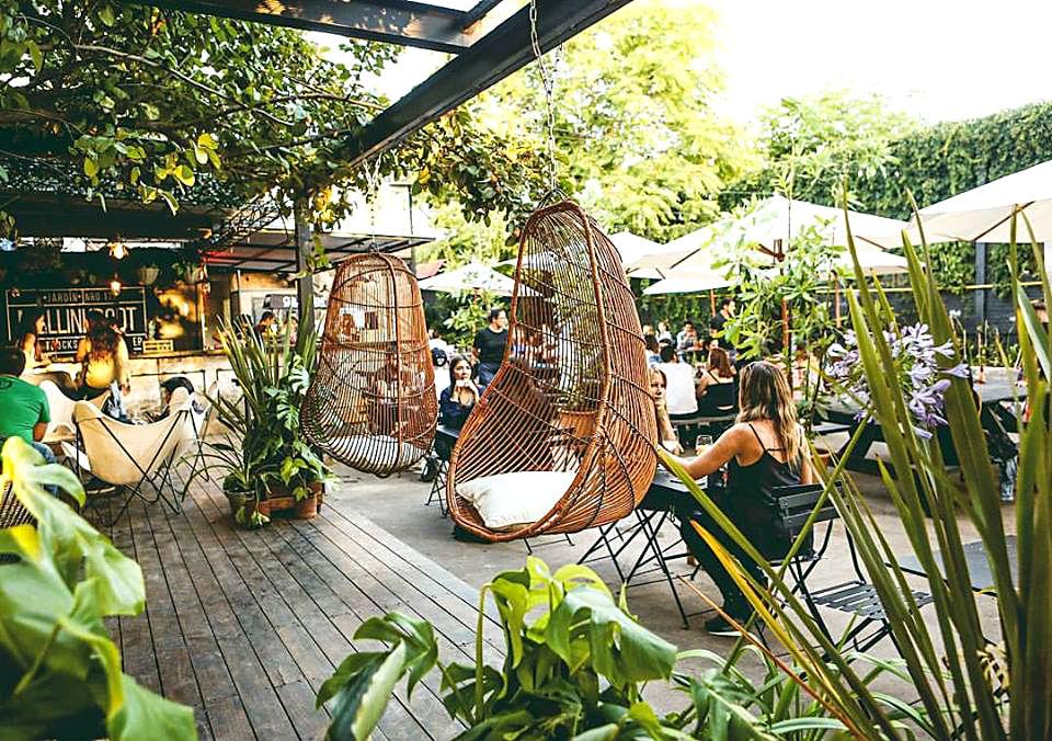 Jard n mallinkrodt el nuevo patio bar de bellavista for Antorchas para jardin precio