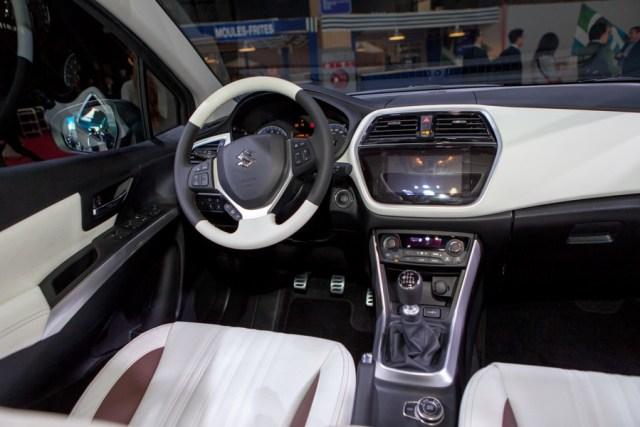 Intérieur du Suzuki SX4 S-Cross
