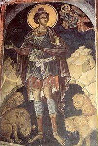 Sf. Prooroc Daniel şi Sf. 3 tineri: Anania, Azaria şi Misail (Dezlegare la ulei şi vin)