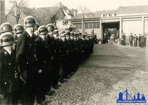 1968 gab es offensichtlich einen Trauerfall in den Reihen der Feuerwehr Völklingen