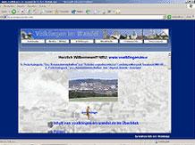 2004: Eine verbesserte Menüstruktur macht die Webseite übersichtlicher