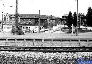 Bahnhofsbereich 1985 (Quelle: Stadt Völklingen).