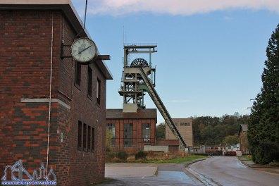 Für die Grube Luisenthal ist die Zeit stehen geblieben (Foto: A.Hell)