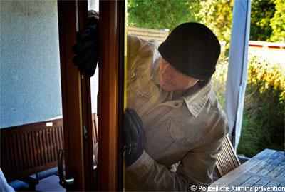 Einbruch (Symbolfoto: www.polizei-beratung.de)