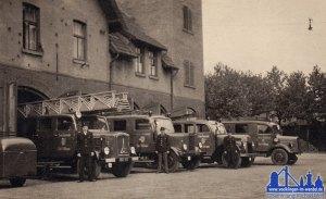 Die Feuerwehr der Stadt Völklingen © Michael Wolf