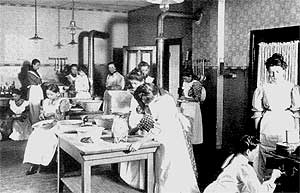 Kochschule 1906 (Quelle: Saarstahl AG)
