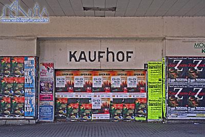 Von Kaufhof blieben in Völklingen nur ruinen über (Foto: Hell)