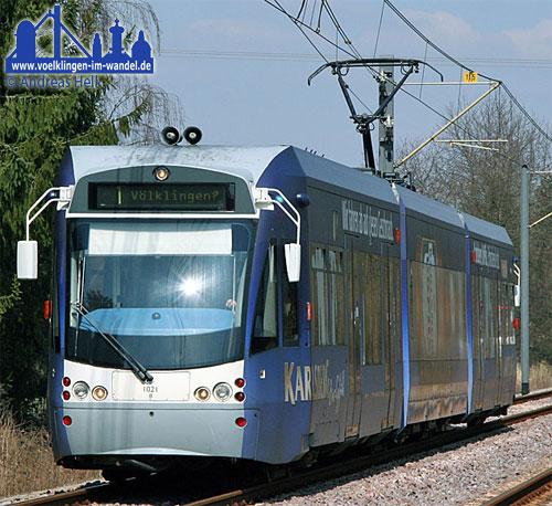 Bis die Saarbahn nach Völklingen kommt werden noch Jahre vergehen (Foto: Hell)