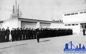 Die Übergabe des Gerätehauses in Wehrden am 13.09.1964 © Sammlung Paul Ganster