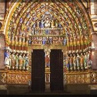 """Amiens: """"night-show"""" alla cattedrale"""