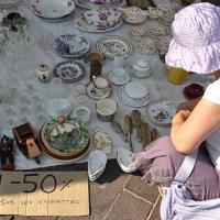 Costa Azzurra: mercatini di fine agosto
