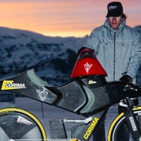 Bici su neve: nuovo record a Vars