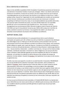 Rapport Moral 21 Septembre 2020
